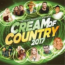 CREAM OF COUNTRY 2017 VARIOUS ARTISTS CD & DVD ALL REGIONS PAL NEW