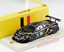 New 1/43 Spark sb100 mclaren mp4-12c gt3, 24hrs spa 2014, #15