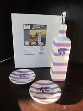 KANSAS STATE U Wildcats DIPPING SET NEW In BOX Memory Company