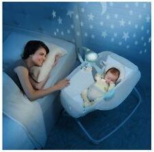 Baby Rocking Bassinet Cradle Travel Infant Bed Room Musical Crib Mobile Rocker