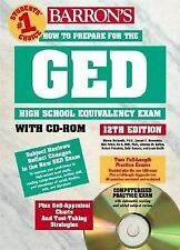 How to Prepare for the GED with CD-ROM (Barron's GED (W/CD)) Rockowitz, Murray,