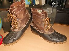 Vintage Women's LL BEAN 5 Eye Maine Hunting Shoe /Leather Muck Boots Sz 7, NICE!