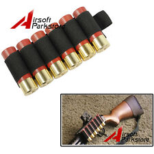1pc Tactical Hunting 6 Rounds Shotgun Shell 12 Gauge Ammo Carrier Holder Black