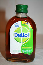 Dettol Topical First Aid Antiseptic Disinfectant Liquid Cleaner 110ml/3.75 Fl.oz
