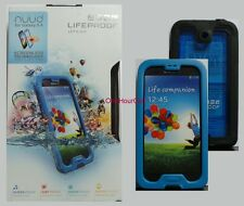 Lifeproof Nuud Waterproof Case for Samsung Galaxy S4 1801-04 Cyan/Black