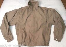 Derby San Francisco full-zip jacket men sz S (34-35) olive/khaki vintage vtg