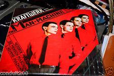 KRAFTWERK MAN MACHINE 1978 UK FIRST PRESS -1 MATRIX W.INNER AND INNER  2' VINYL