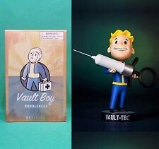"""Fallout 3 Vault Boy 5"""" Medicine 101 Bobblehead (Series #3) NIB Vault-Tec Pip Boy"""