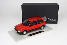TOP MARQUES COLLECTIBLES 1986 FIAT Uno Turbo Red 1:18*Almost Sold Out!