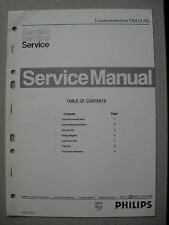 Philips 70 FB410 Lautsprecher Box Service Manual