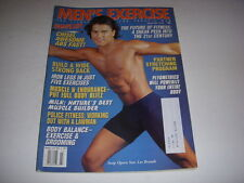 MEN'S EXERCISE Magazine, March, 1997, LES BRANDT Cover, POLICE FITNESS WORKOUT!