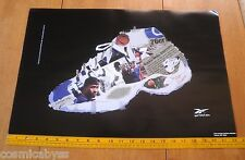 Reebok 1997 Allen Iverson Saudia Roundtree shoes poster 14.5x22""