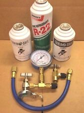 R22, R-22, A/C, Refrigeration, RECHARGE KIT, TEST GAUGE, PRO SEAL & PRO DRY