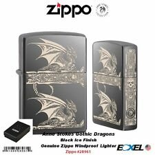Zippo 28816, Playboy Lighter, Full Face Emblem, Swarovski Elements, Black Matte