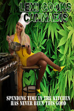 Lexi Cooks Cannabis DVD 105 minutes, Playboy Model, Pot, Weed, Marijuana