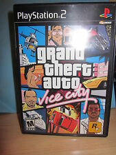 Sony PlayStation PS2 Grand Theft Auto Vice City Video Games