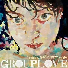 Grouplove - Never Trust a Happy Song [Digipak] Brand NEW CD (2011, Canvasback)