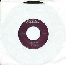 "BEATLES USA 90s Capitol jukebox 7"" 45 LOVE ME DO~PS I LOVE YOU, 30th Anniversary"