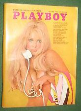Playboy Oct 1969 POM Jean Bell Oh Calcutta! Jazz & Pop Rowan & Martin Interview