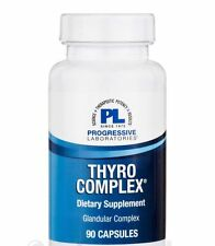 THYRO COMPLEX GLANDULAR SUPPLEMENT NEW ZEALAND THYROID PROGRESSIVE LABORATORIES