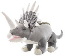 Wagner 4503 - Plüschtier Plüsch Dinosaurier Triceratops 90 cm Dino riesig gross