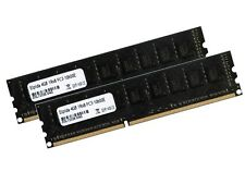 2x 4gb 8gb ECC Unbuffered RAM memoria ddr3 1333 MHz UDIMM pc3-10600e