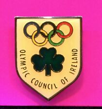 IRELAND OLYMPIC NOC PIN OLYMPIC COUNCIL OF IRELAND NATIONAL OLYMPIC COMMITTEE