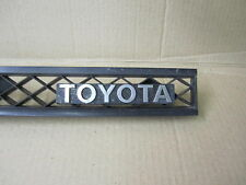 TOYOTA SUPRA 87-88 1987-1988 GRILLE WITH EMBLEM OE