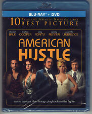 AMERICAN HUSTLE new blu-ray dvd JENNIFER LAWRENCE CHRISTIAN BALE BRADLEY COOPER