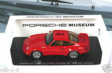 Porsche 911 (964) Turbo 3,6l Coupe, Flachbau, MJ. 1994 US Version, 1/43, wie neu