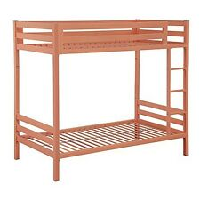 we furniture premium twin metal bunk bed coral new atlantic furniture orleans transitional twin open foot