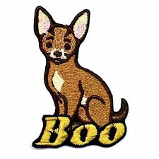 Iron-on Chihuahua Dog Patch With Name Personalized Free