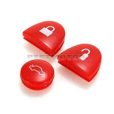 1 Set Red Key Buttons Remote Repair For Holden Commodore VS VT VX VY VZ WH WK WL