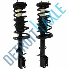Both (2) NEW Rear Left & Right Complete Strut W/ Spring & Mounts Quick Assembly