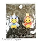 Pokemon Center Poncho Pikachu Series Lugia and Ho-oh ver. Pin Badge set Pins