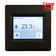 BN Thermic T16CB - Touch Screen Underfloor Heating Programmable Thermostat Black