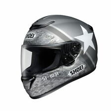 SHOEI QWEST RESOLUTE TC-5 SILVER/WHITE M Medium  HELMET JAPAN MADE