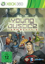 Young Justice League - DC Comics - Microsoft Xbox 360 - NEU