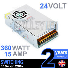 24v Dc 360 W 15a 230v 110v Switching Power Supply Para Tira De Led Controlador Cctv