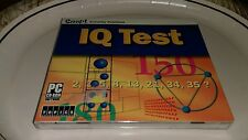 IQ TEST PC CD-Rom Software Snap Everyday Solutions MATH Linear Verbal Spatial