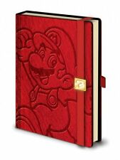 SUPER MARIO A5 NOTEBOOK - Red Nintendo Jotter Journal Note Book Notepad Writing