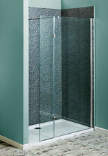 700mm Wet Room Screen Walk In Shower Enclosure With Return Glass Panel