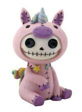 Unio Purple Unicorn Skull Mini Furrybones Home Decor Figurine NEW BIGGER SIZE