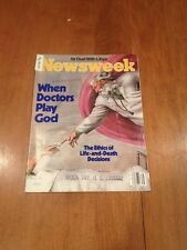 Newsweek Magazine When Doctors Play God August 31 1981 USA vs Kaddafi Rob Bork