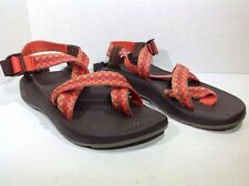 Chaco Women's Size 7 Z2 Classic Orange Aztec Pattern Casual Sandals Shoes SS-612
