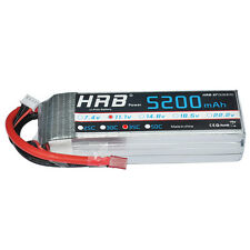 HRB RC Lipo Battery 5200mAh 3S 11.1v 35C-70C For RC Airplane Plane Monster Truck