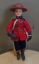 "Vintage ""HAPPY"" Royal CANADIAN Mounted Police RCMP 7"" Celluloid DOLL"