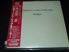 Works, Vol. 2 by Emerson, Lake & Palmer JAPAN LTD MINI LP SHM-CD SEALED