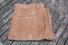 VTG NWT JC PENNEY Men's Tan Fine Wale Corduroy Pants Size 36 x 32
