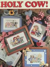 HOLY COW! Good Natured Girls Farm Chart Pattern Book Cross Stitch L577